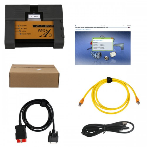 BMW ICOM A3 Pro+Diagnostic Tool plus V2019.3 ICOM HDD ISTA/D 4.15.12 ISTA/P 3.65 with Engineer Programming