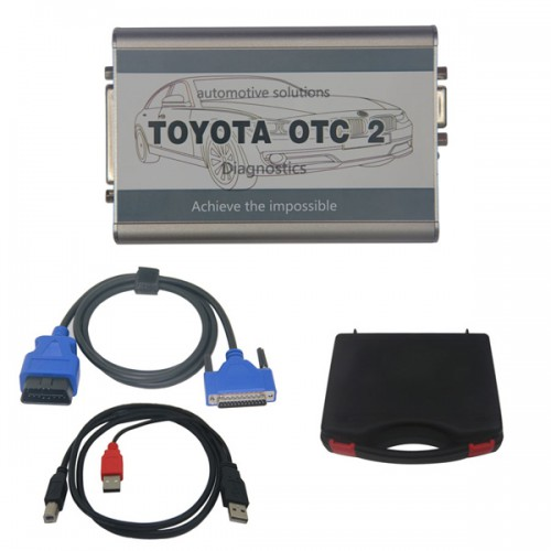 TOYOTA OTC 2 with Latest V12.10.019  Software for all Toyota and Lexus Diagnose and Programming