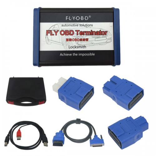 FLY OBD Terminator Locksmith Version with Free J2534 Software  Free Update Online