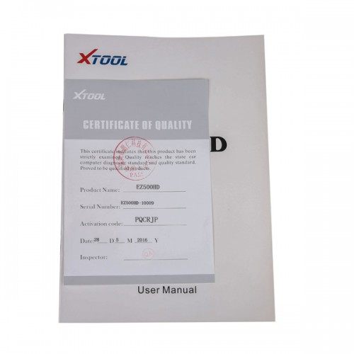 XTOOL EZ500 HD Heavy Duty Full System Diagnosis with Special Function(The function same as PS80  HD)