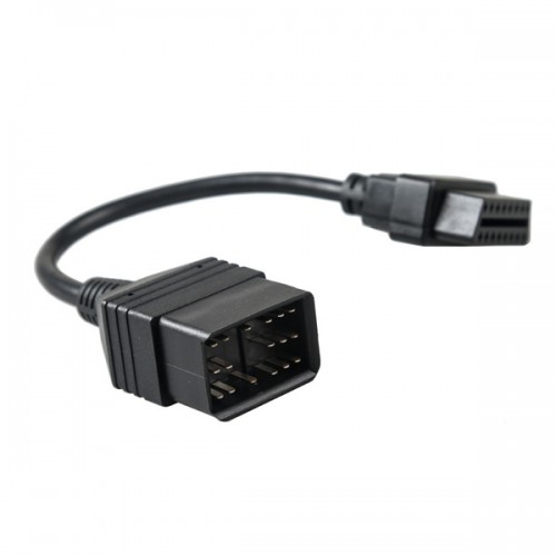 17 Pin to 16 Pin OBD OBD2 Cable for Toyota