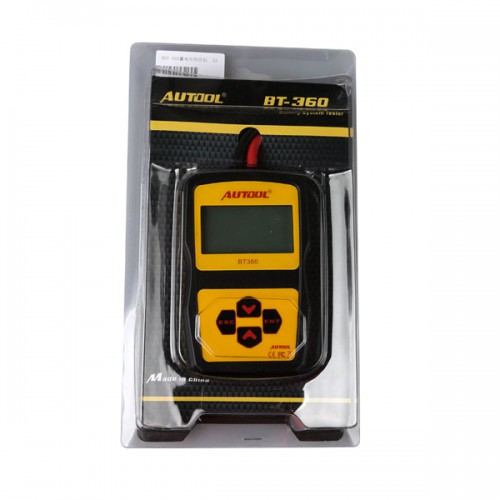 AUTOOL Oringinal AutoBattery Tester BT360 with Portable Design