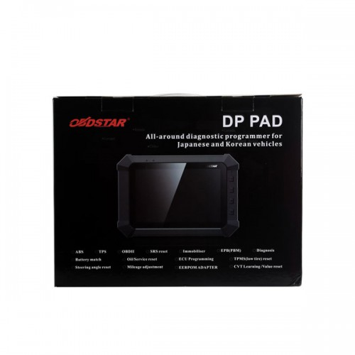 OBDSTAR DP Pad Tablet IMMO ODO EEPROM PIC OBDII Tool for  South Korean and Japanese Vehicles