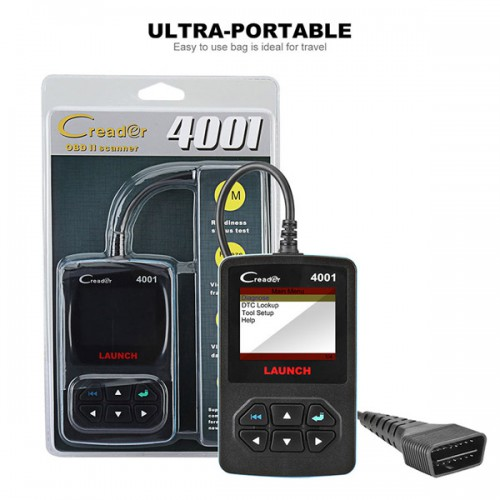 Launch DIY CReader 4001 OBDII/EOBD Code Reader Auto Diagnostic Scan Tool