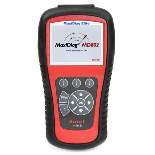 Original Autel MaxiDiag Elite MD802 for 4 system+DS model (Including MD701, MD702, MD703, MD704 4 in 1)