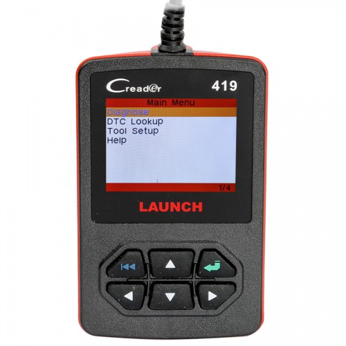 Launch CReader 419 CR419 DIY Scanner OBDII/EOBD Auto Diagnostic Scan Tool Code Reader