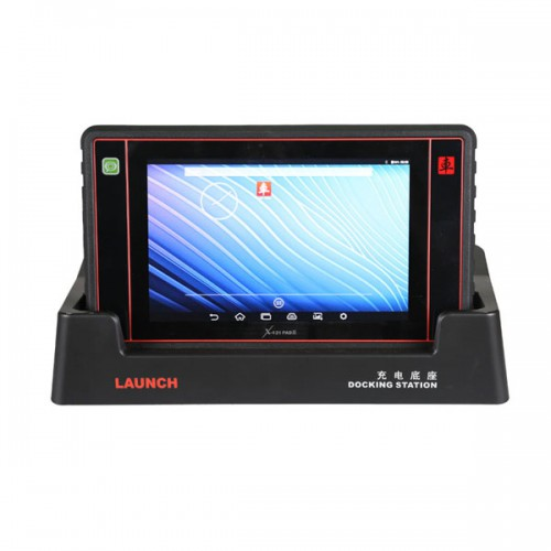 Full system diagnosis LAUNCH X431 PAD II Remote diagnosis via golo Easy and quick update via Wi-Fi