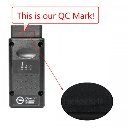 Opcom OP-Com 2014V Can OBD2 Firmware V1.59 for OPEL Diagnose Supports Cars to Year 2014