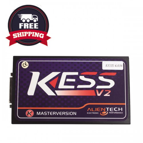 Kess V2 V5.017 Online Version V2.47 Kess V2 OBD2 Manager Tuning Kit Auto Truck ECU No Tokens Limitation with exactly 7400 Vehicles added