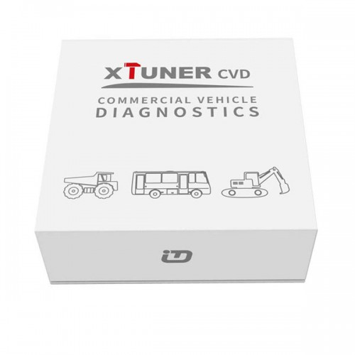 XTUNER CVD-6 on Android Commercial Vehicle Diagnostic Adapter XTuner CVD Heavy Duty Scanner support Bluetooth