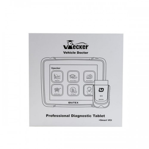 Original Wifi Idutex Vpecker E4 with Coding and Programming Function  Professional Diagnostic Tablet