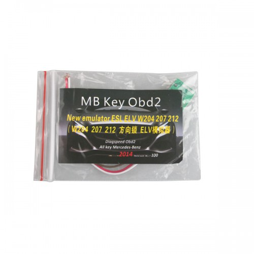 [ Ship From US, No Tax] W204 W207 W212 ELV Simulator for MB KEY OBD2