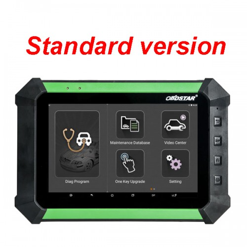 X300 DP PAD Key Programmer Standard version support Toyota G/H Chip+Immobilizer+ Odometer Adjustment+ EEPROM/PIC Adapter +OBDII[Buy SP326 instead]