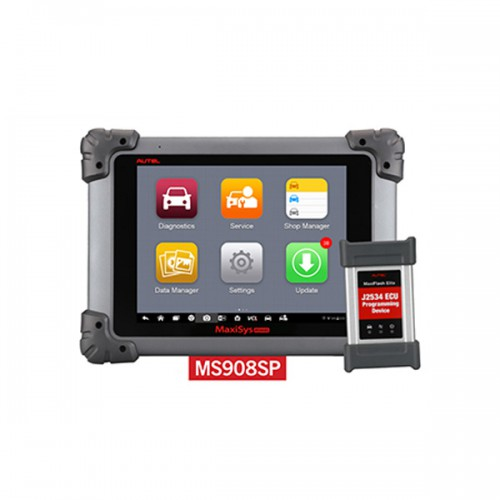100% Original Autel MaxiSys MS908S Pro Professional Diagnostic Tool  Diagnosing Automotive Faults Managing Customer Data