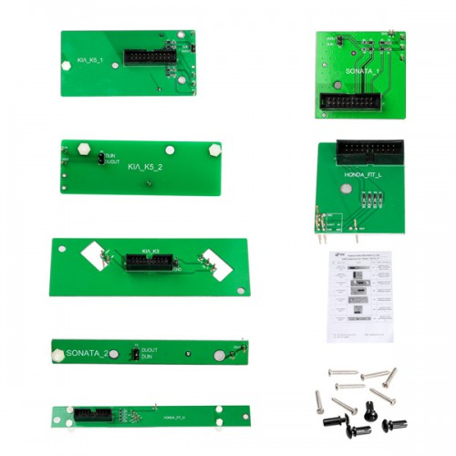Full Package Yanhua Mini ACDP Key Programming Master basic module with Total 10 Authorizations No need Soldering
