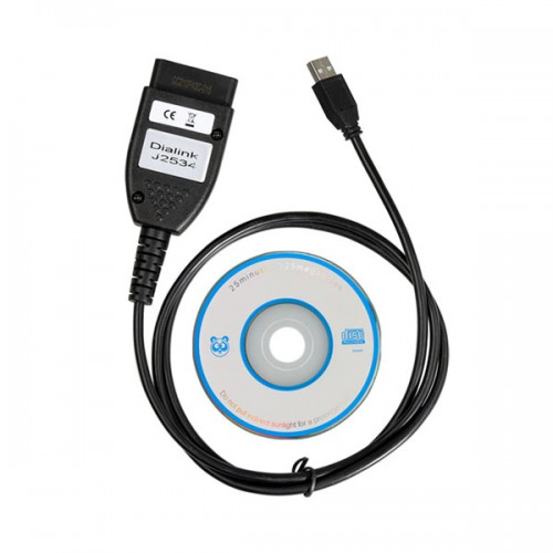 Dialink j2534 cable work with MultiFlasher ECU Chip Tuning Capable Of Working With Trucks Support BlueTooth