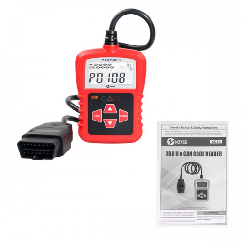 KZYEE KC11 OBDII CAN SCAN TOOL