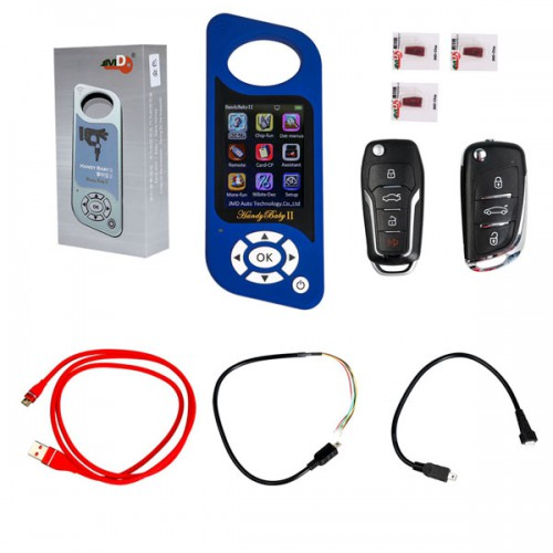 JMD Handy Baby II Key Programmer Car Key Copier for 4D/46/48 Chips Handy Baby 2