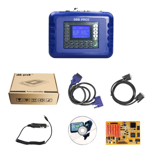 V48.99 Sbb Pro2 Key Programmer With 1024 Tokens Can Support New Cars to 2017 Same as Item SK03-D