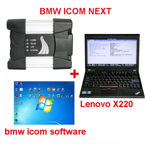 BMW ICOM NEXT+Second Hand Laptop Lenovo X220+2019.12 BMW Icom Software HDD