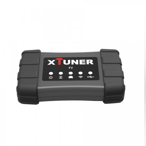[Ship From US] V13.1 XTUNER T1 Heavy Duty Trucks Auto Intelligent Diagnostic Tool Works on WinXP-Win10 Supports Wifi