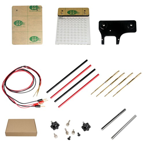 LED BDM Frame 2 in 1 with Mesh and 4 Probe Pens for FGTECH BDM100 KESS KTAG K-TAG ECU Programmer Tool