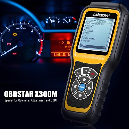 [Ship From US]OBDSTAR X300M Odometer Adjustment Via OBDII Support Benz/Fiat/Volvo/VAG and MQB Models