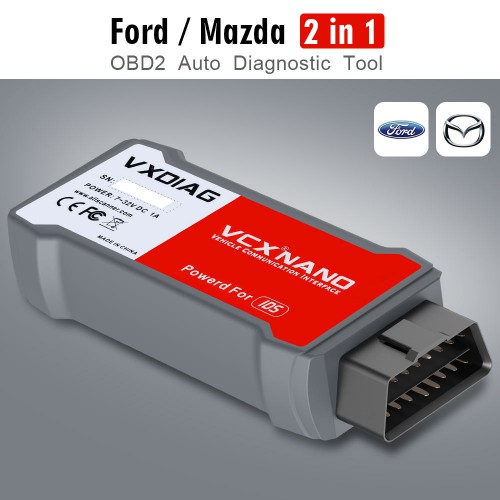 [Ship From US] [On Sale] VXDIAG VCX NANO for Ford IDS Mazda IDS Support Cars Till 2020