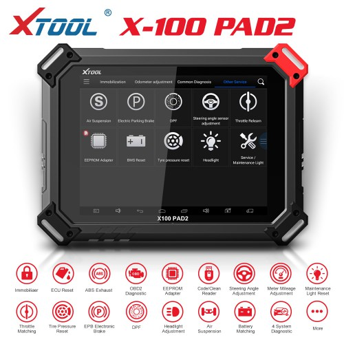 [11-11 Sale ] (Ship from US, No Tax) Standard Version  XTOOL X-100 PAD2 X100 PADII Key Programmer Special Functions Expert Update Version of X100 PAD