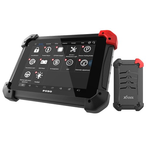 XTOOL PS90 PRO OBD2 Diagnostic Tools Work Both Car and Trucks PS90 Heavy Duty Code Read Scanner