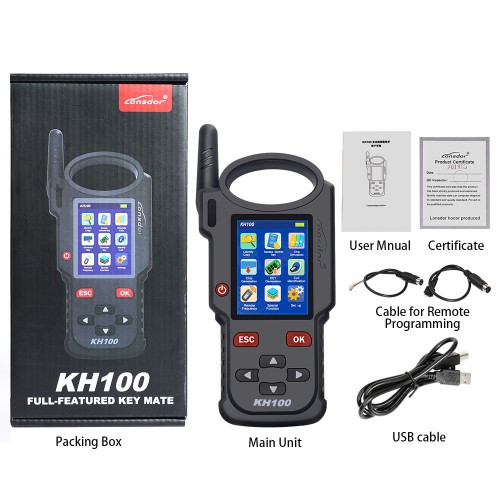 Lonsdor KH100 Hand-Held Remote/Smart Key Programmer Support Wifi
