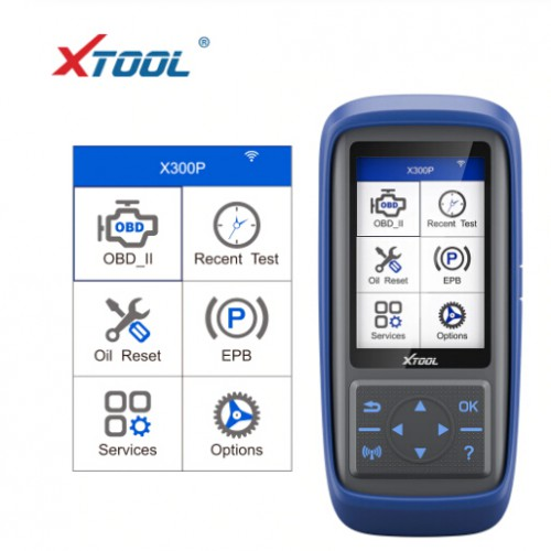 New XTOOL X300P Diagnostic Tool OBD2 Scanner Update Online Multi-Languages