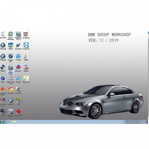 [New Year Sale] Latest V2019.12 BMW ICOM Software ISTA 4.20.31 ISTA-P 3.67.0.000 with Engineers Programming Windows 7 System