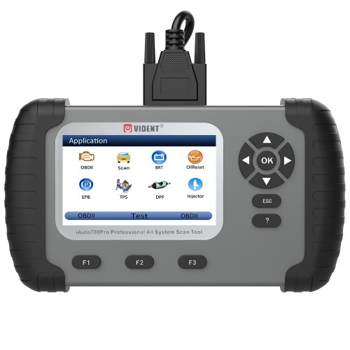 VIDENT iAuto708 Pro All System Scan Tool OBDII Scanner Car Diagnostic Tool