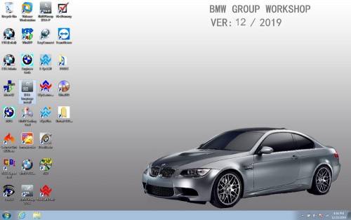 V2019.12 BMW ICOM SSD ISTA 4.20.31 ISTA-P 3.67.0.000 with Engineers Programming Windows 7 System