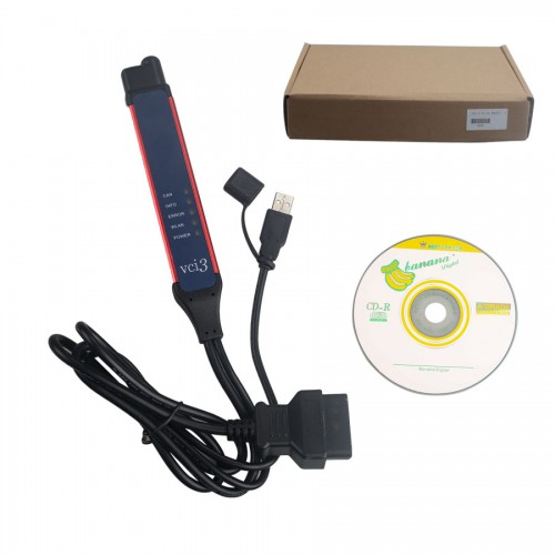 Latest V2.43 VCI-3 VCI3 Scanner Wifi Wireless Diagnostic Tool for Scania
