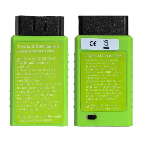 [Ship From US]  Toyota G and H Chip Key Transponder OBD Remote Toyota Key Programming Tool