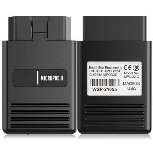 [Ship From US] Best wiTech MicroPod 2 V17.04.27 Diagnostic & Programming 2 in 1 for Chrysler support Multi-language