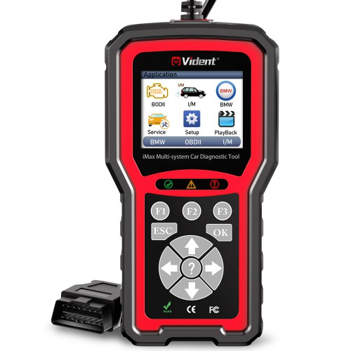 VIDENT iMax4302 Full System Car Diagnostic Tool Works on the BMW & MINI Most 1996 and Newer