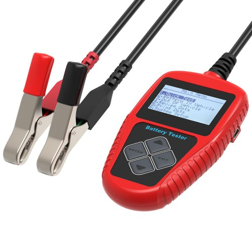 [Ship From US] Latest QUICKLYNKS BA101 Automotive 12V Vehicle Battery Tester