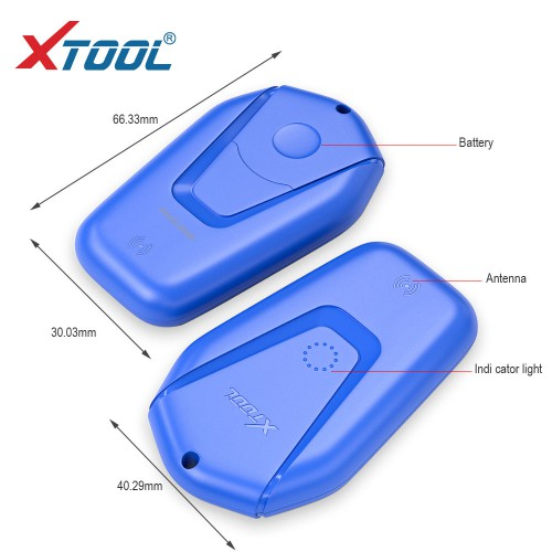 OBD2 New XTOOL KS-1 Blue Emulator for PS90 X100 PAD2/PAD3/PAD Elite/A80/H6 All Lost
