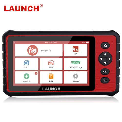 LAUNCH X431 CRP909 OBD2 Car Diagnostic Scanner Support Airbag SAS TPMS IMMO Reset With 15 Special Functions