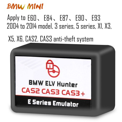 [Ship From EU] BMW ELV Hunter CAS2 CAS3 CAS3+ E Series Emulator Support Both BMW and Mini