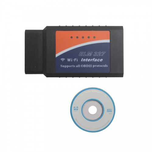 WiFi Wireless ELM327 OBD2 OBDII Interface Auto Adapter Code Reader for iPhone ipad iPod iOS Windows