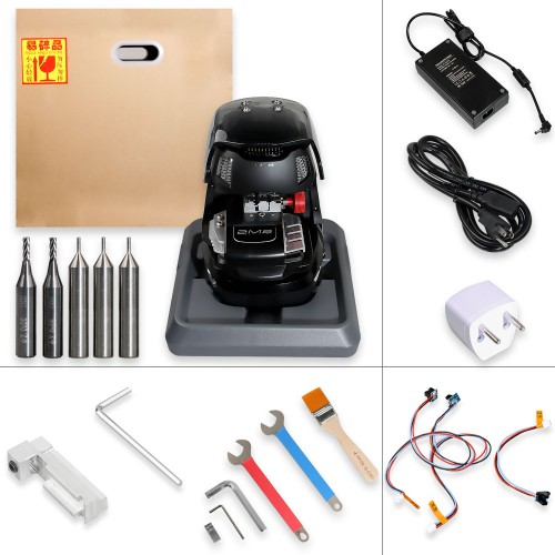 2M2 Magic Tank Automatic Car Key Cutting machine With Battery VIP price for Josh