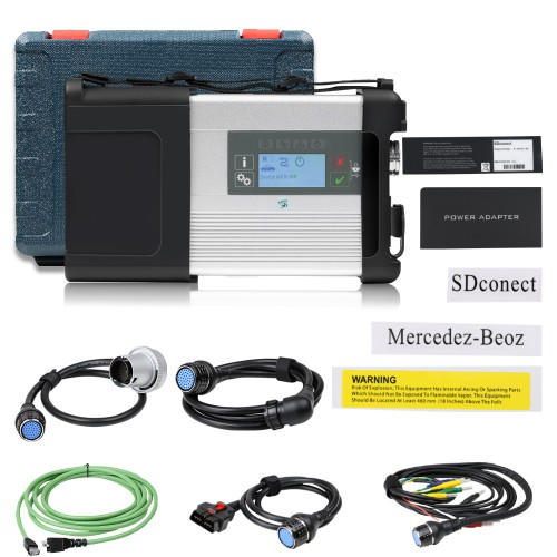 MB Star C5 MB SD Connect C5 Benz Car and Truck Diagnostic Tool Support DoIP Xentry without Software