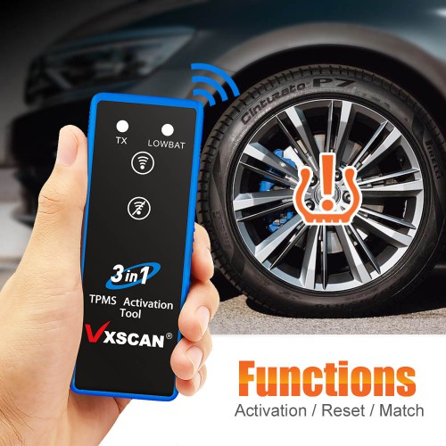 [Ship From US] VXSCAN 3 in 1 Tire Pressure TPMS Activation Tool for TOYATA/GM/FORD