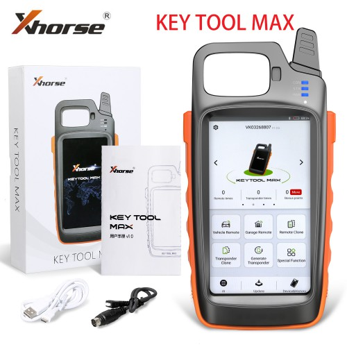 XHORSE KEY TOOL MAX + XHORSE DOLPHIN XP-005 Key Cutting Machine Payment link For Mr.Steven