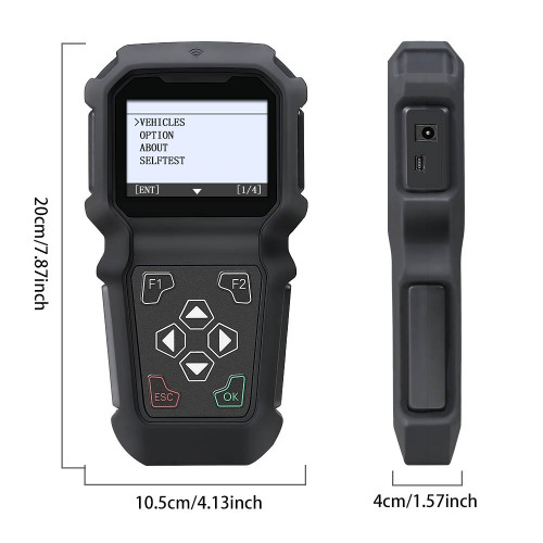 GODIAG K103 Hand-held key Programming For NISSAN/Infiniti Support All Key Lost, Pin Code Read