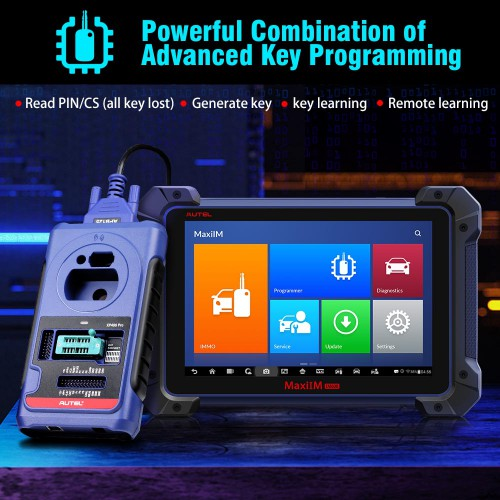 [Ship From US] Original Autel MaxiIM IM608 PRO Auto Key Programmer & Diagnostic Tool Equel to IM608 plus XP400 PRO